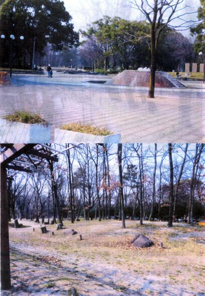 名城公園と市民の森